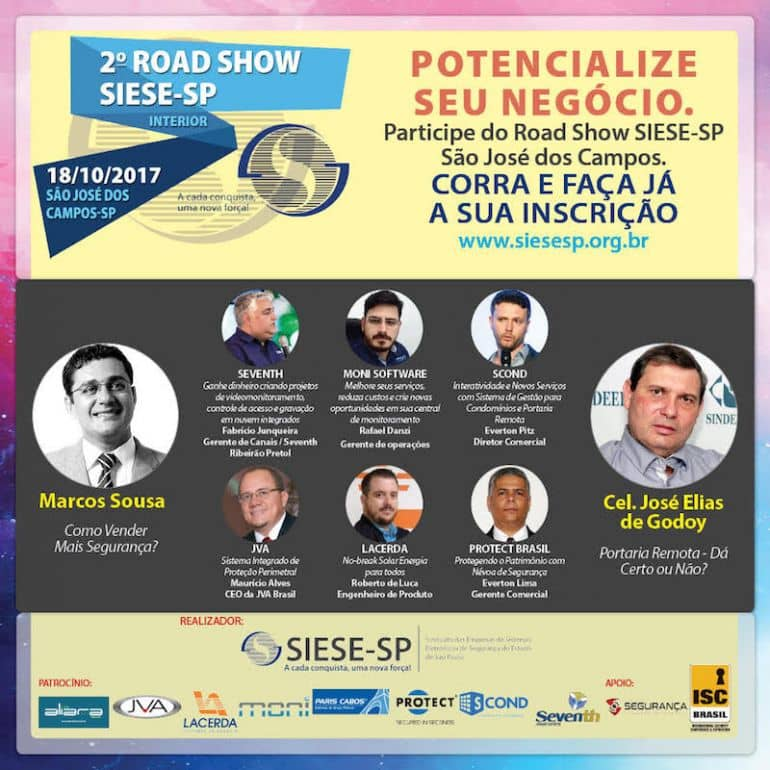 SCOND é presença confirmada no Road Show SIESE/SP